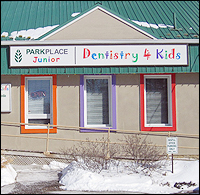 Children's dentist in Brampton